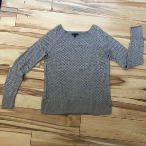 American Eagle Taupe Knit Sweater